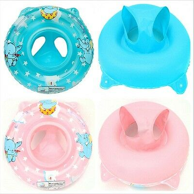Baby Swimming Seat Ring Inflatable Aid Trainer Float Various Cartoon Designs UK