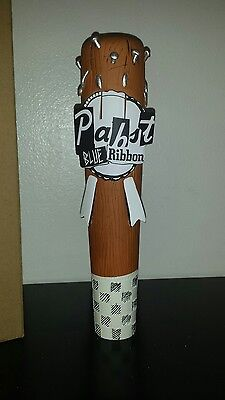 Pabst Blue Ribbon Art Beer Tap Handle - New/In Box! PBR Bat w/ Nails