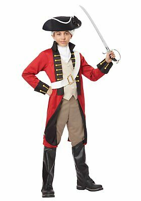 California Costumes Collections 00434 Child British Redcoat