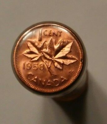 1958 Canada 1 Cent Roll