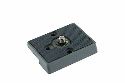 Manfrotto 200PL-14 Rectangular Quick Release Plate with 1/4-20 Screw for Ball He