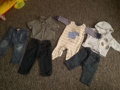 Next bundle boys clothes 3-6 months