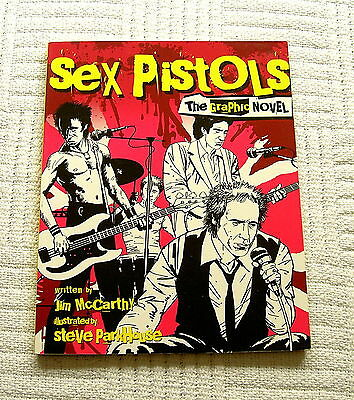Book Graphic Novel The Sex Pistols Omnibus Press 2012 Excellent Condition