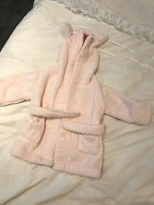 little white company Girls Dressing gown 0-6 Months