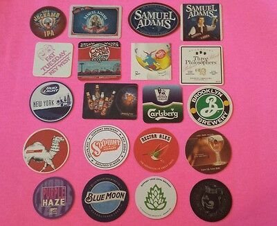 Ber coasters, lot of 20 different. (group 20K)