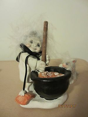Dreamsicles Angel Cherub Halloween Witches Brew Cauldron 1994