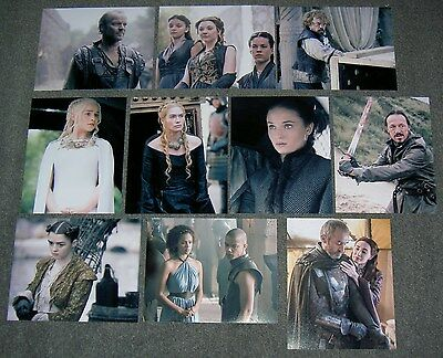 GAME OF THRONES 10 x 8 PHOTO'S,MANY DIFFERENT SINGLE PHOTOS.FREE P&P.LOTS.1-78.A