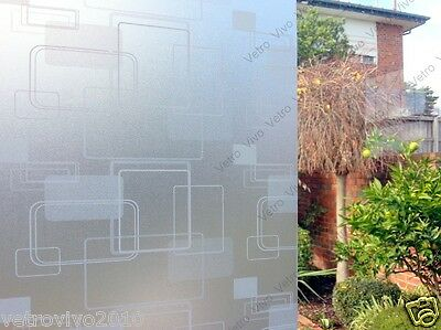 90 CM x 1.5 M - R.T Frosted Removable Frosted Window Glass Film for privacy