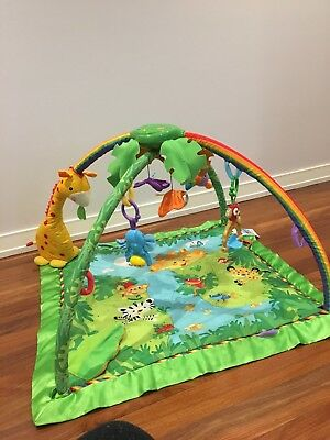 Fisher Price Rainforest Melodies and Lights Activity Mat