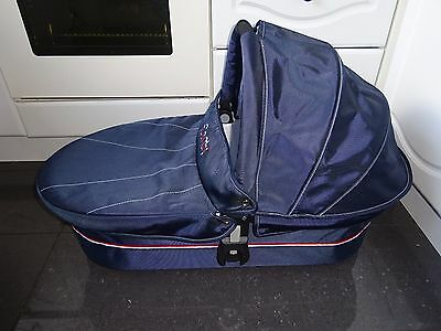 iCandy Cherry Newborn Baby Carrycot Pram Navy Blue Union Jack Limited Edit