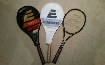 Collectable Emrik Graphite Tennis Racquets X 3