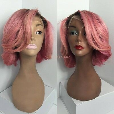 Lace Front Wig Human hair 12inch