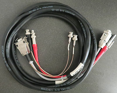 cable set for target dmcaPro MCA card for HPGe detector, 3 meter