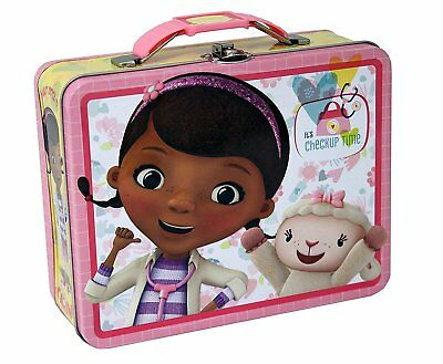 The Tin Box Company 927607-12 Doc McStuffins Carry All Tin- Assorted