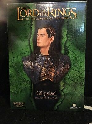 LOTR Sideshow Weta Gil-galad 1/4 Scale Bust Limited Edition