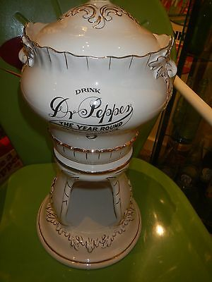 Dr Pepper 1890's Style Syrup Dispenser - Marv Art 1980's Reproduction - Rare