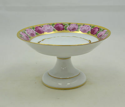 Singer Limoges France - Rose de Paris - kleine Aufsatzschale