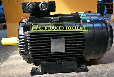 NEW BUSCK 22 KW, 3 PHASE, IE2, 400V, 50HZ, B3, 4 Pole, WE180L-4 ELECTRIC MOTOR