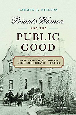 Private Women and the Public Good: Charity and Sta,PB,Carmen Nielson - NEW