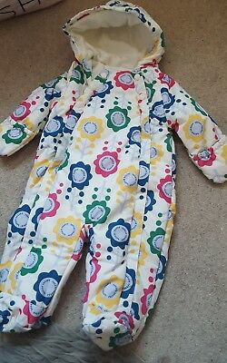 baby girls snow suit 9-12 months