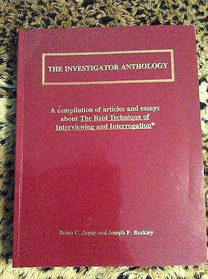 The Investigator Anthology, Brian C. Jayne and Joseph P. Buckley