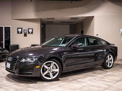 2012 Audi A7 Base Hatchback 4-Door 2012 Audi A7 Quattro Auto Oolong Gray Metallic over Titanium 49K Miles $64K+MSRP