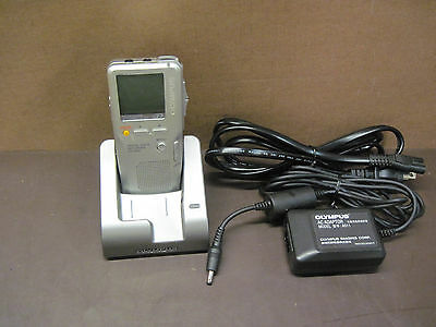 Olympus Digital Voice Recorder DS-4000 With Cradle CR3 And Power Adapter
