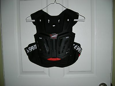 Leatt 4.5 Junior Chest Protector L/XL Red/Black