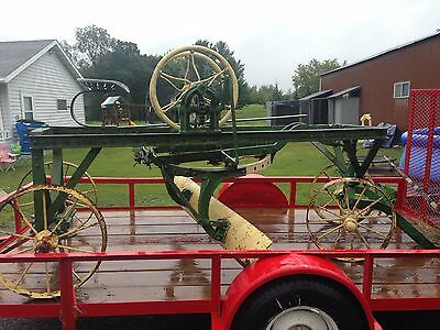 Clide- Minneapolis Antique horse/tractor drawn road grader.