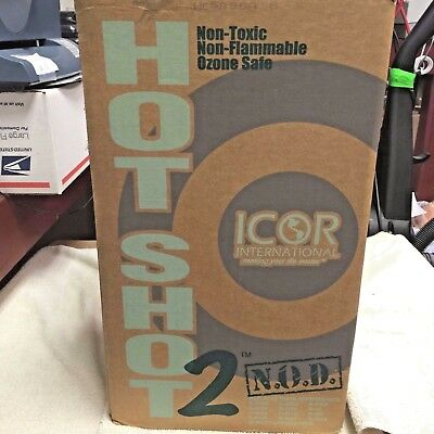 Hot Shot 2, Refrigerant, Non-Toxic Non-Flammable Ozone Safe, 25 lb. can