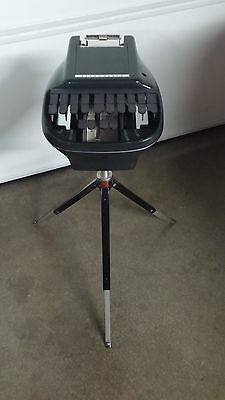 Vintage Stenograph Reporter Shorthand Machine With Tripod And Case