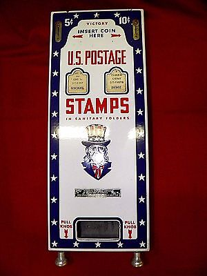 Vintage Us Stamp Machine Porcelain Keys. Plus Sleeves Very Nice!! Antique, Wow!