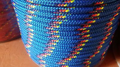"1/2"" x 300 ft. Double Braid~Yacht Braid Polyester rope Spool.Made in the USA."