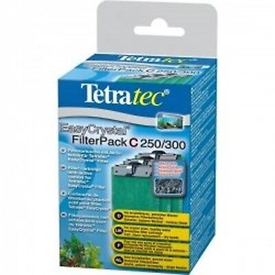 Tetratec Easy Crystal Filter Pack C250/300 Activated Carbon Pack of 3.1 P... NEW