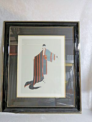 "Erte Limited Edition Serigraph Signed & Numbered ""Michelle""  71/300"