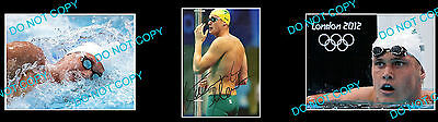 Kendrick Monk Olympic Swim Star Signed Photo +2 Photos