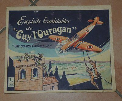 Récit complet : GUY L'OURAGAN 1 (LES EXPLOITS FORMIDABLES) RARE 1946