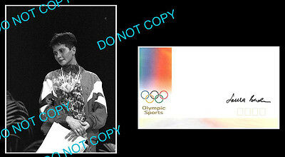 Laura Badea Fencing Olympic Gold Signed Cover +1 Photo