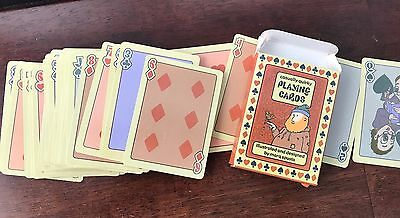 MARQ SPUSTA Casually Quirky Playing cards Rare 2001
