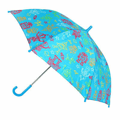 New CTM Kids' Space Print Stick Umbrella with Hook Handle