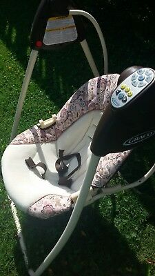 Graco baby swing one hand recline