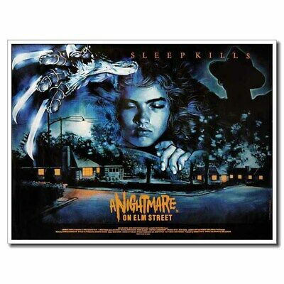 "A Nightmare on Elm Street 24""x32"" Old Horror Movie Silk Poster Wall Decoration"
