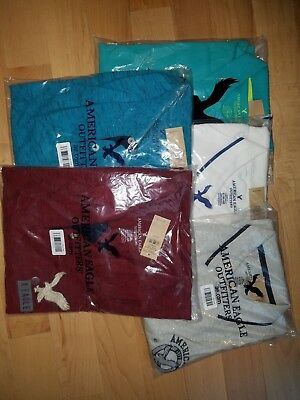 NWT Mens American Eagle Polo shirts Size XLT Classic Fit Lot of 5