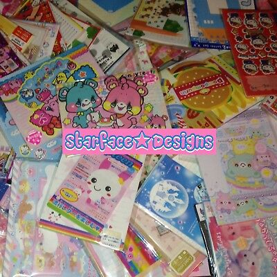 Kawaii Japanese Loose Letter Set Kamio Sanrio Crux San-X Stationery Scrapbook