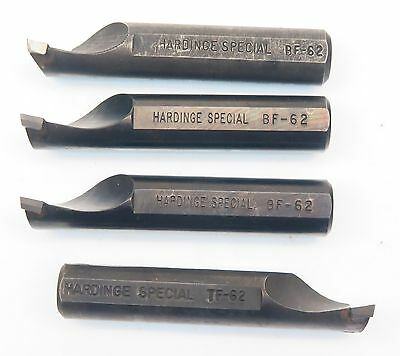"""Used Hardinge Special 5/8"""" Shank BF-62 TF-62 Carbide Tipped Boring Bar Tool Bits"""