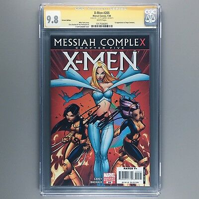 X-Men #205 1st appearance Hope Summers CGC SS 9.8 NM/MT J Scott Campbell Variant