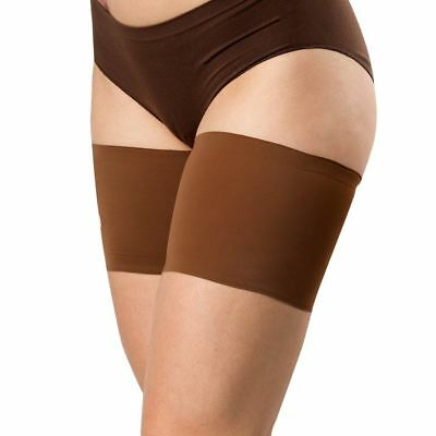 Bandelettes UNISEX CHOCOLATE - Elastic Anti-Chafing Thigh Bands Brown