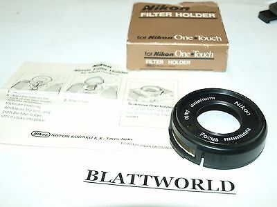 used GENUINE ORIGINAL NIKON ONE TOUCH FILTER HOLDER