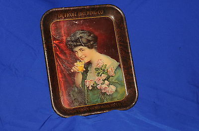 Antique 1911  Detroit Brewing Co. Serving Tray