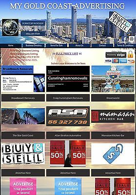 Business Advertising Website For Sale, Business Directory, Suit Any Location